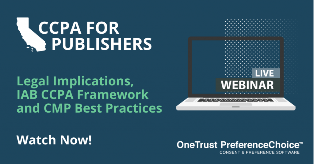 CCPA for Publishers
