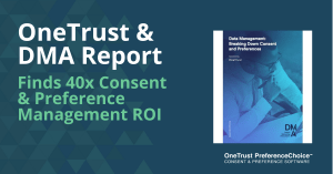Consent and Preference Management ROI