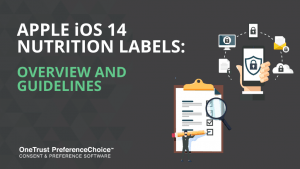 Apple iOS 14 Nutrition Labels